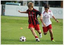 Детский футбольный лагерь в Италии