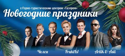Новый год в Горно-туристическом центре «Газпром»