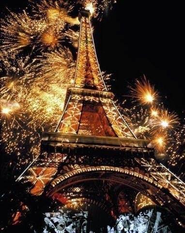 Париж на Новый год